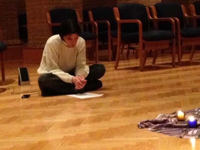 Beata Tiboldi praying