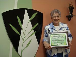 Sr. Joan Dunning receives award
