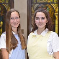 SAA Seniors Abby Heck & Allison Raney